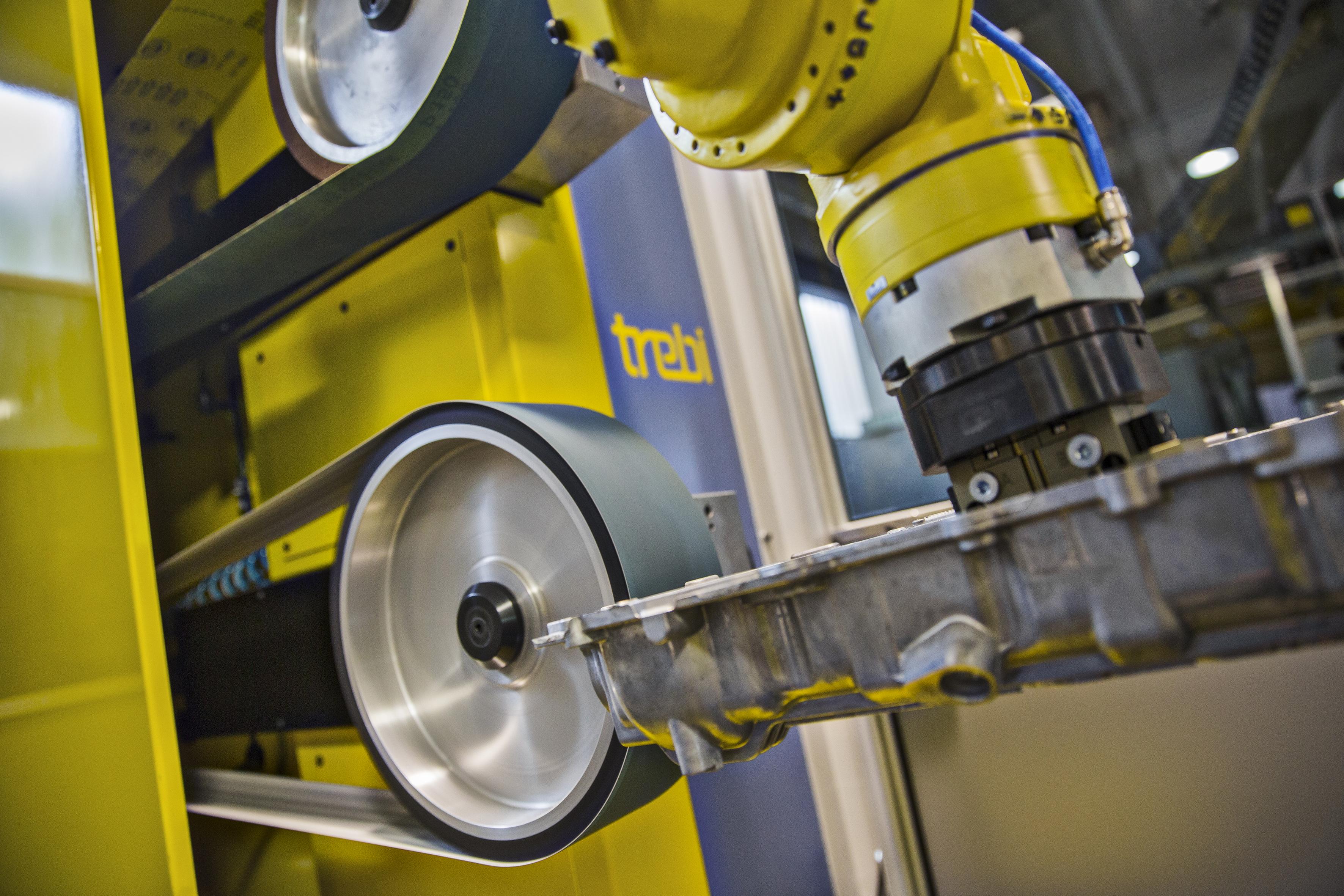 Robotic Finishing Machine