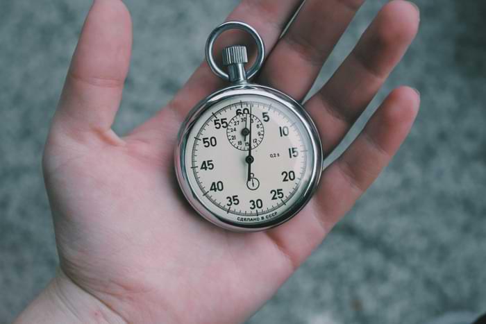 Calcolo del tempo ciclo lavoro