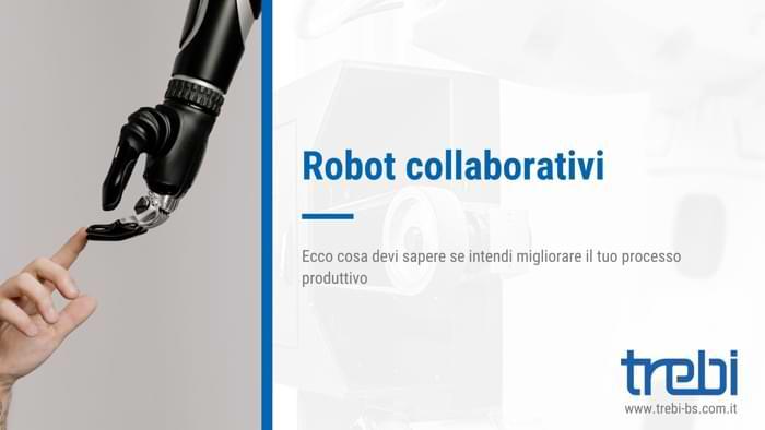 I robot collaborativi possono aiutare l'uomo ma non sostituirlo