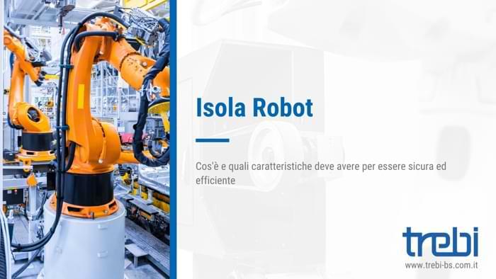 L'isola robot e le sue caratteristiche