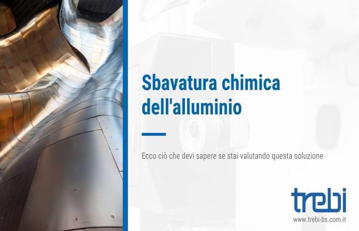 Cos'è la sbavatura chimica dell'alluminio