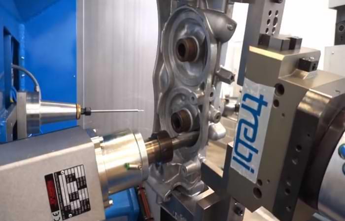 Sbavatura automatizzata dei metalli