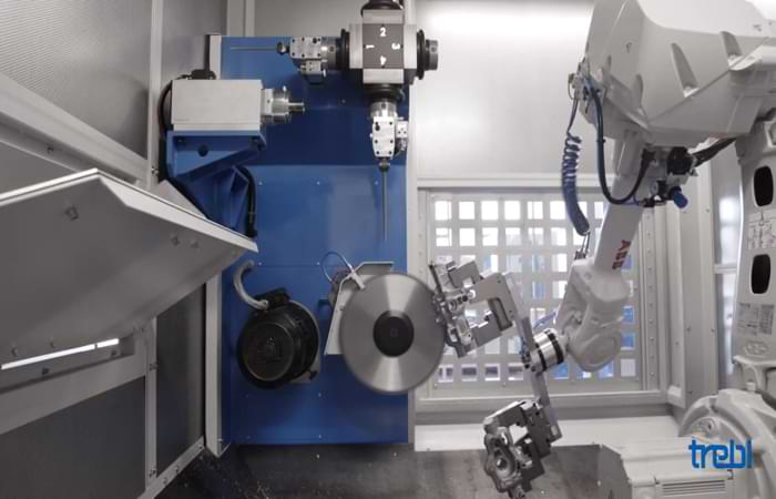 Robot per fonderia Trebi